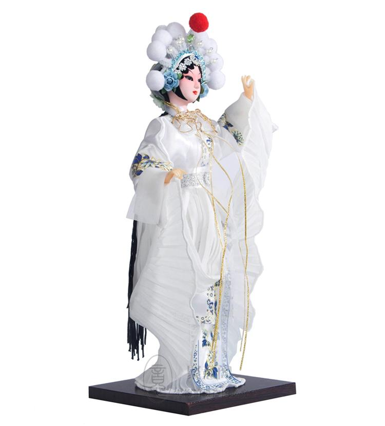 Güzel ipek bebek bebek hediye S versiyonu opera Pekin Çin hediye hediye çantası posta yabancı rüzgar