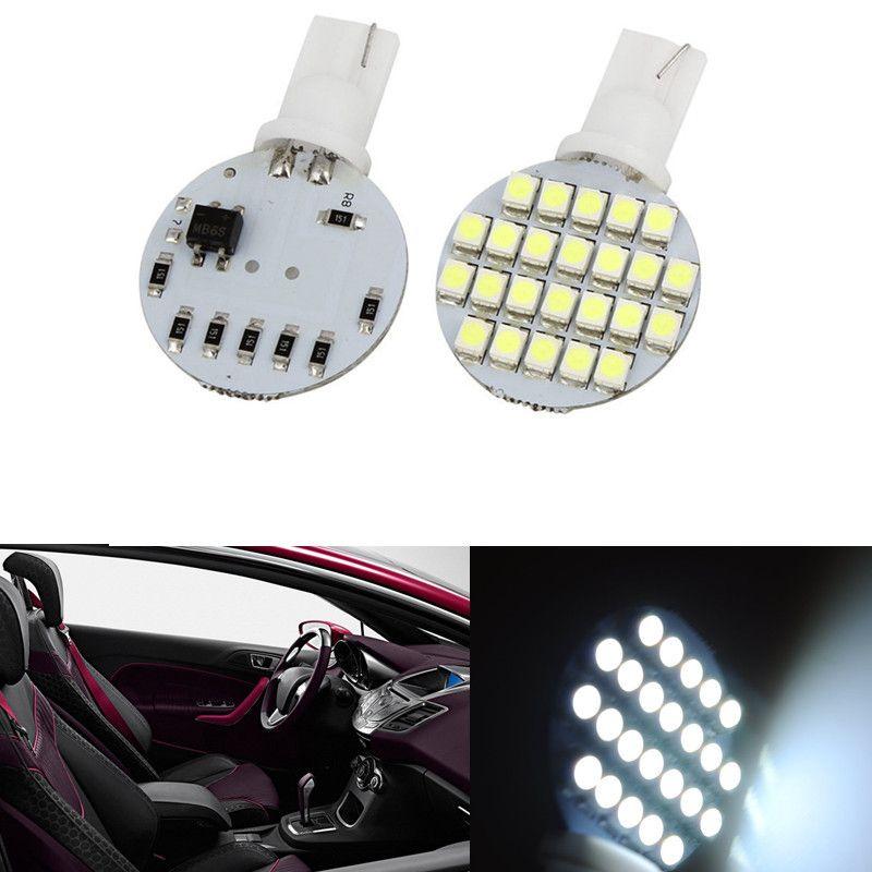 Wedge T10 24 LED SMD 194 921 147 168 W5W 1210 192 RV Lampe Ampoules blanc prix de gros 12V DC