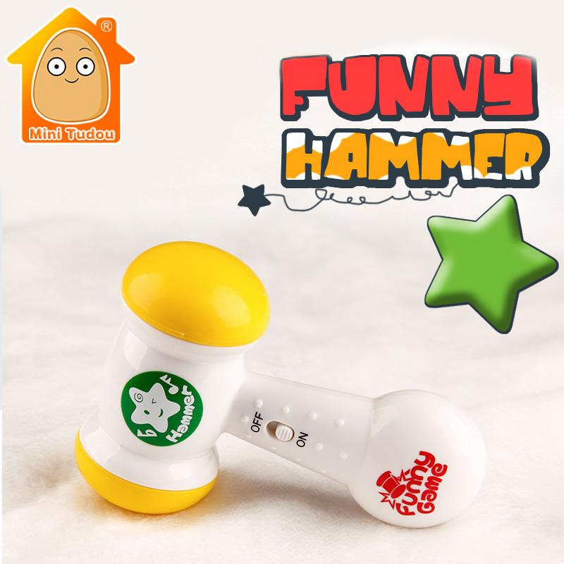 Wholesale Minitudou Baby Toy Hammer Baby Rattle Mobile Music For