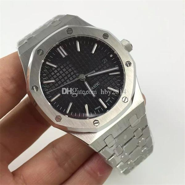 Top Brands Mens Mechanical Watches Luxury Automatic Movement Black