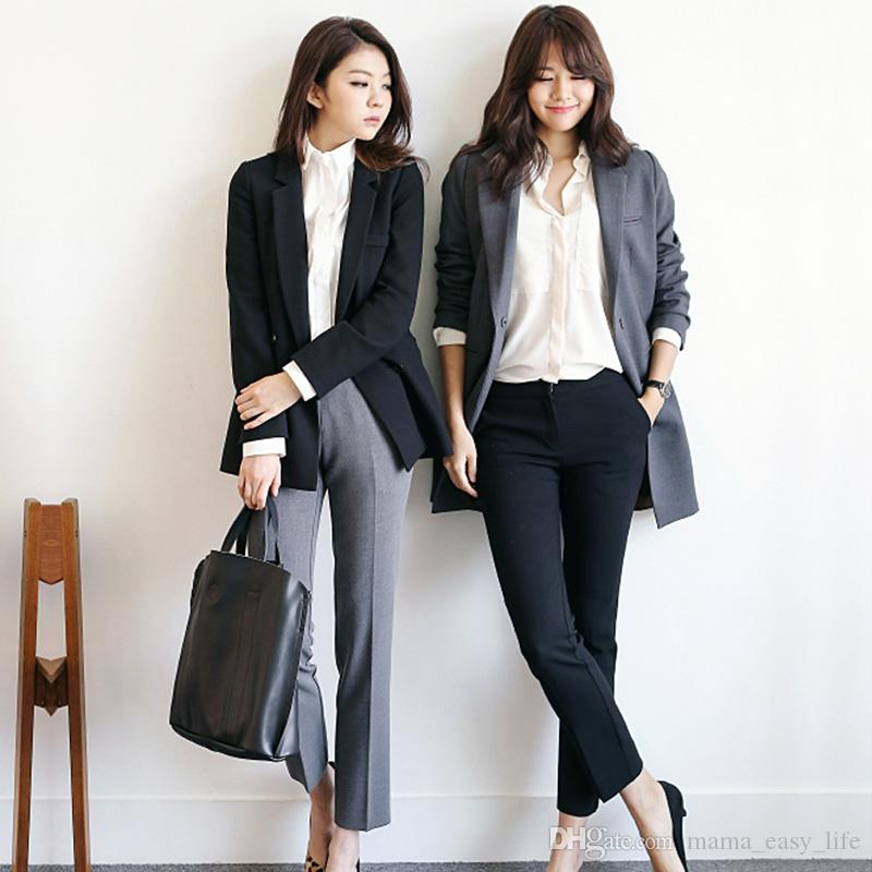 2018 Regular Fit Women Clothing Formal Office Ladies Fashion Wear