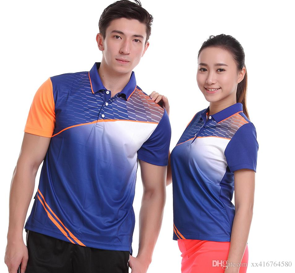 2019 Sportswear Sweat Quick Dry Breathable Badminton Shirt Women