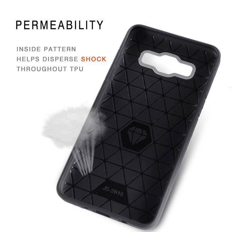 For Samsung Galaxy J7 Prime J5 Prime J710 J510 J3 J2 J1 Ace Hot Cheap Carbon Fiber Soft Hybrid Armor Smart Phone Case