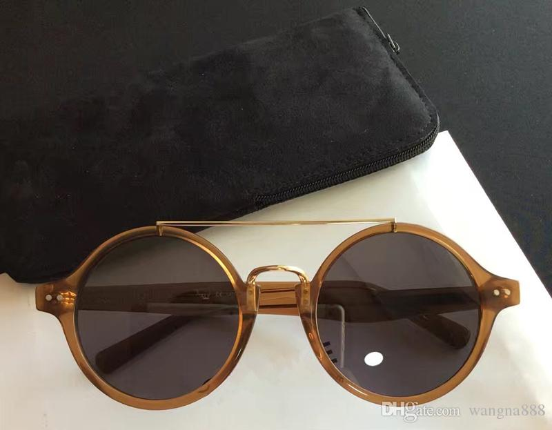 6dfa5fb761ffc 2017 New Luxury Women Brand Designer Sunglasses CE Sunglasses Audrey  Sunglasses Round Frame Vintage Style Cool Design CE41377 CE 41377 CE  Sunglasses Online ...