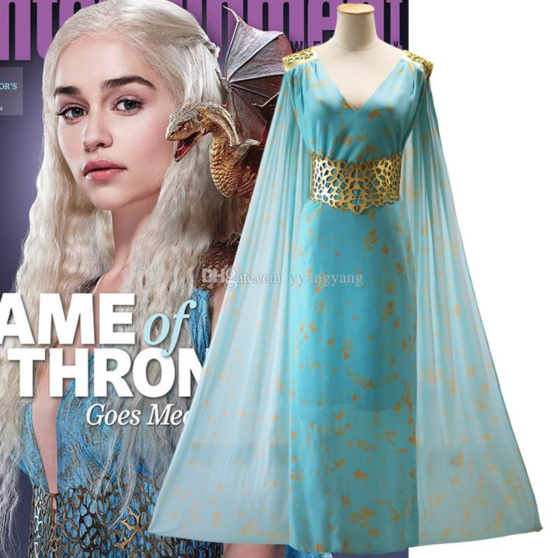 Game Of Thrones A Song Of Ice And Fire Daenerys Targaryen Dress