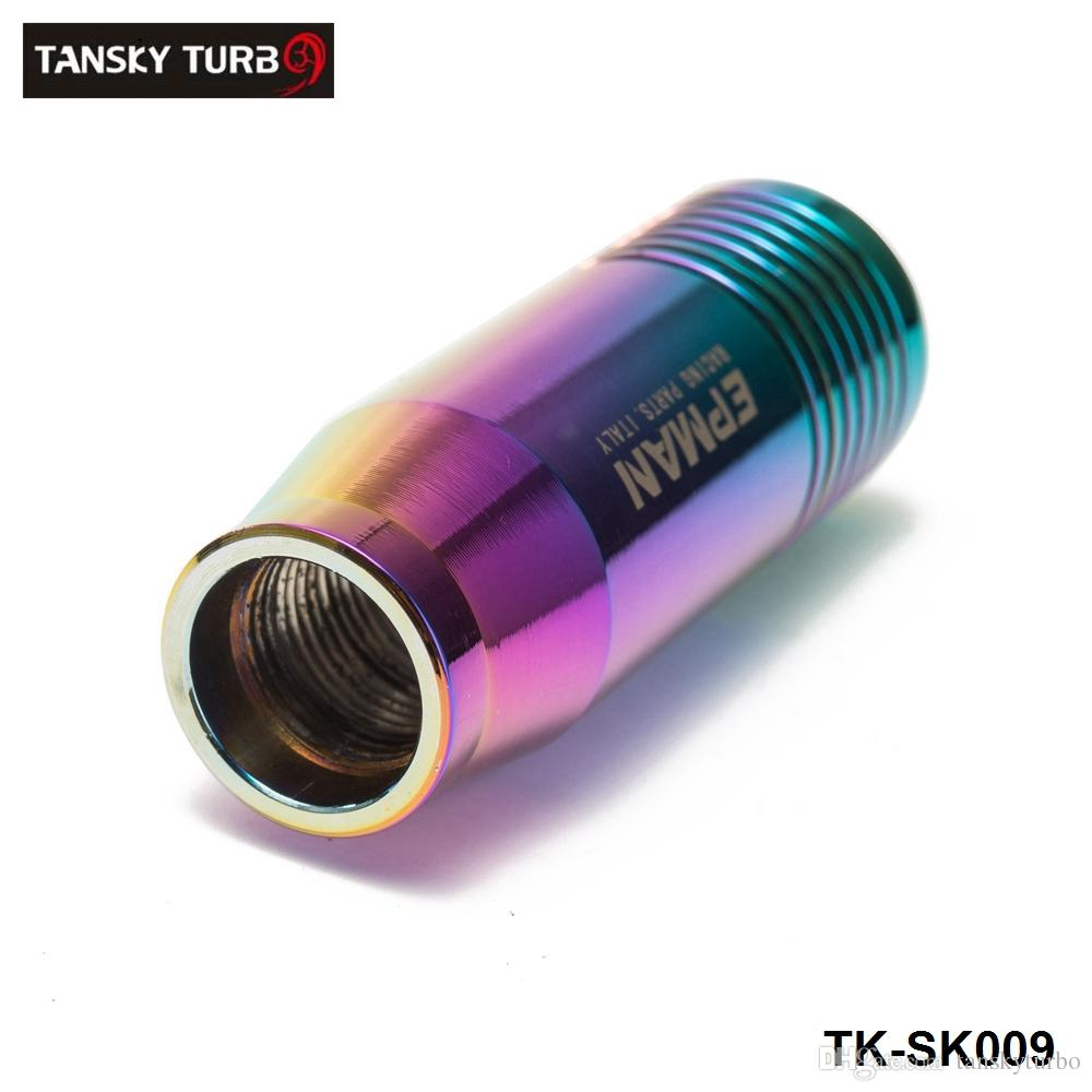 Tansky -New العالمي الألومنيوم دليل نقل والعتاد عصا التحول شيفتر رافعة مقبض فولكس فاجن أودي تويوتا TK-SK009