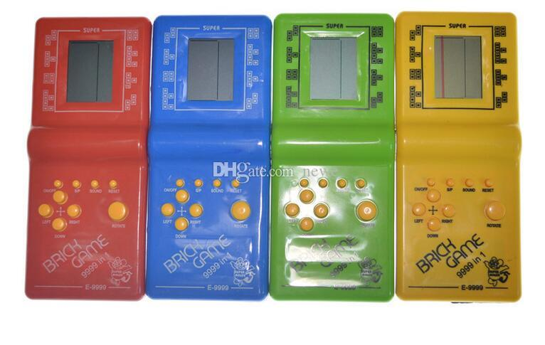 I giocatori nuovo retro infanzia classico Tetris gioco portatile LCD giochi elettronici Giocattoli console di gioco Riddle giocattoli educativi