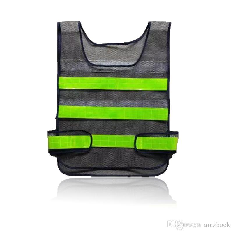 2017 Roupas de Segurança Colete Refletivo Oco grade colete de alta visibilidade Aviso de segurança de trabalho Construção de Trabalho colete De Trânsito