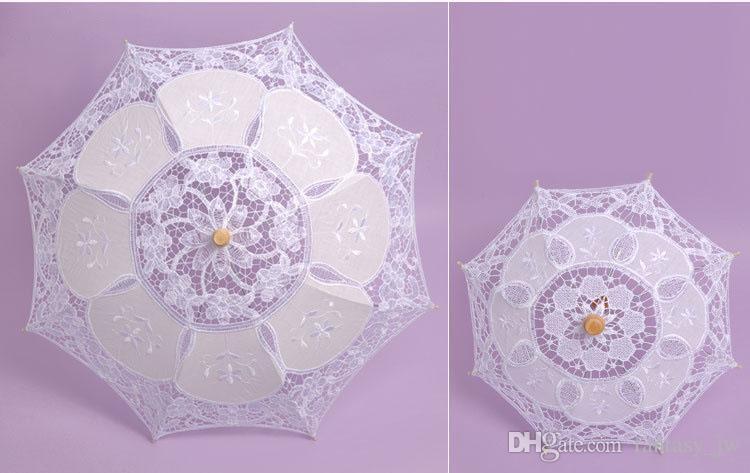 2020 Wedding Lace Parasol Bridal Style Umbrella Retro ...