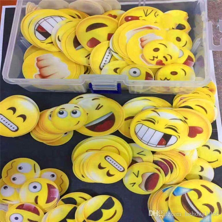 Cute Emoji Edible Sticky Rice Paper Cartoon Cake Decor Facial ...