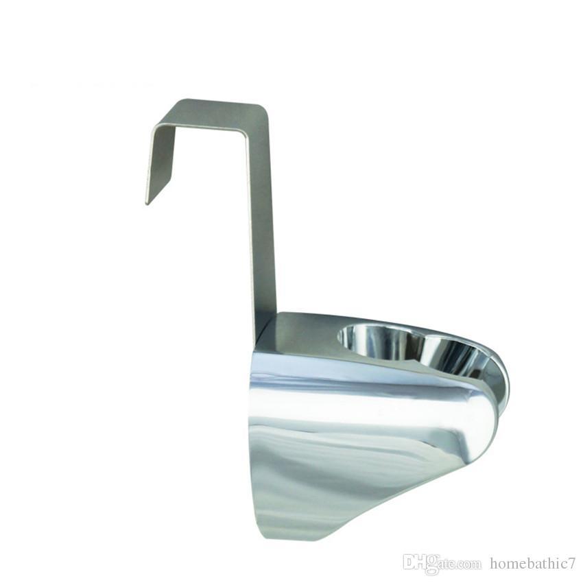 Stainless Steel+ABS Stick Holder Hook Hanger For Bathroom Hand held Toilet Bidet Sprayer