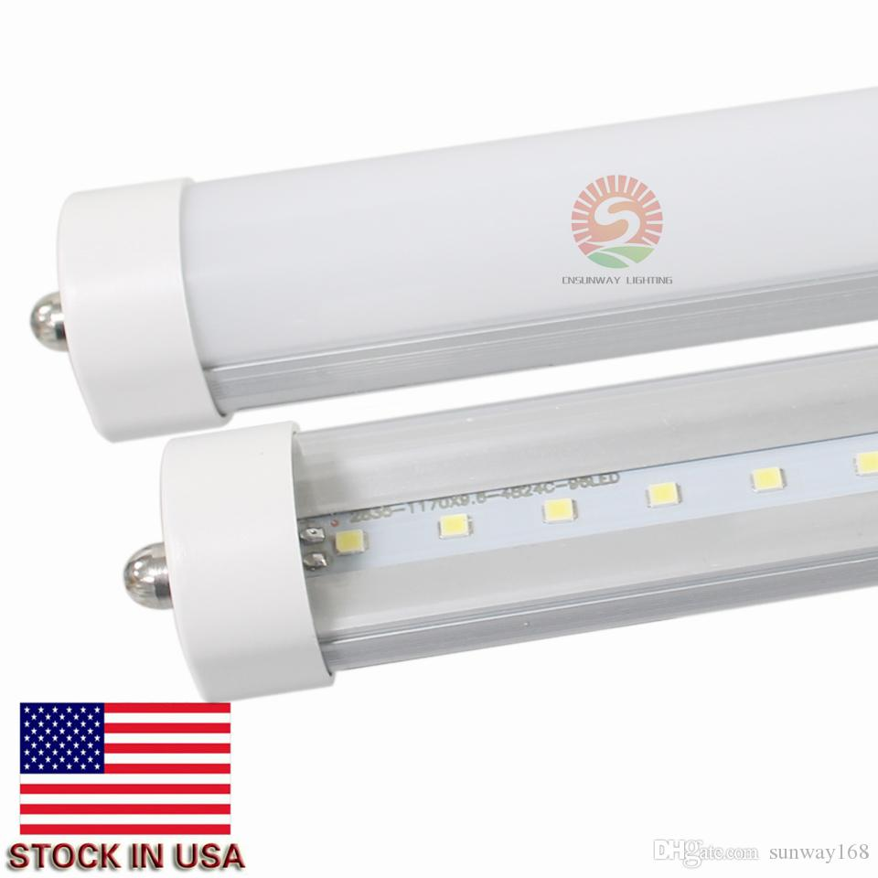 Cree Led S Light T8 6ft 34w 3800lm Single Pin Fa8 Fluorescent Bulbs Smd2835 Whole Real Lights