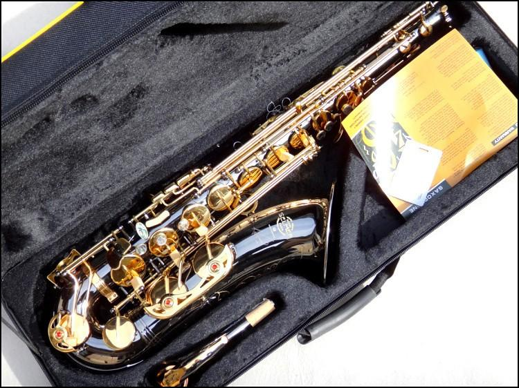 Wholesale wholesale very good gift reference 54 tenor saxophone wholesale wholesale very good gift reference 54 tenor saxophone black nickel the gold saxofon high f all sax student saxophone from glenan negle Images