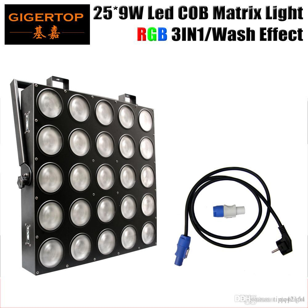259w Rgb 3in1 Led Matrix 25x9w Blinder Light Dmx 84 75 30 6 Wiring Channel 5x5 Stage Audience Tianxin Scanner Tp M25 Moving Head