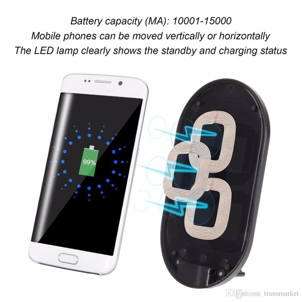 Szybka ładowarka bezprzewodowa Ładowarka N900 dla Samsung S8 S7 S6 1520 LG Nexus5 pionowe stenty PAD Bezprzewodowe szybkie ładowanie Galaxy Note4 S5
