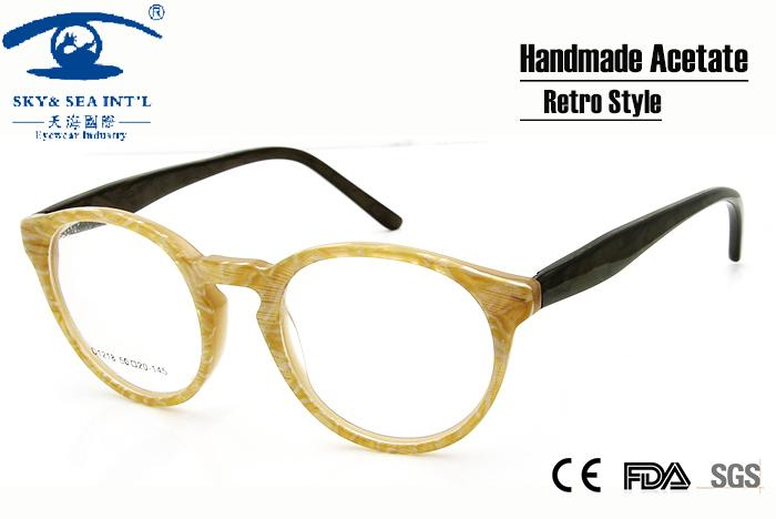 f5d7951cc90 Wholesale New Style Vintage Eyeglasses Frames Eyewear Round Glasses Women  Men Unisex Prescription Glasses Frames UK 2019 From Fragmentt