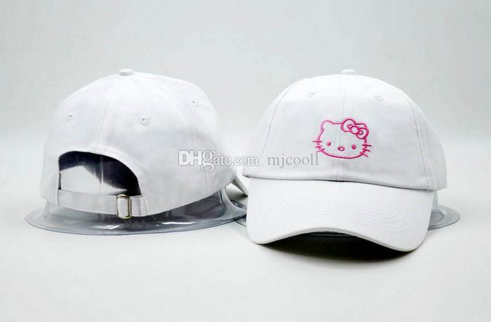 8da9c069c8dd1 Hello Kitty Hat Hats For Women Men Cool Brand Designer Hip Hop ...