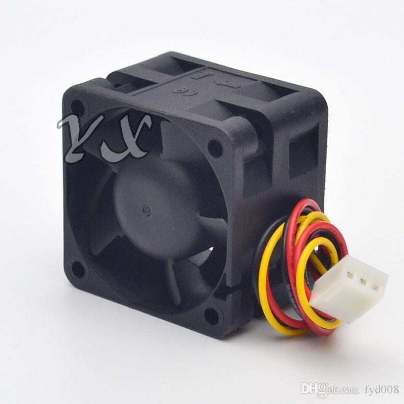원래 Sunon PMD1204PQB1-A 4cm 4028 12V 4W 1U2U 서버 팬 큰 전원 서버 냉각 팬 3 라인