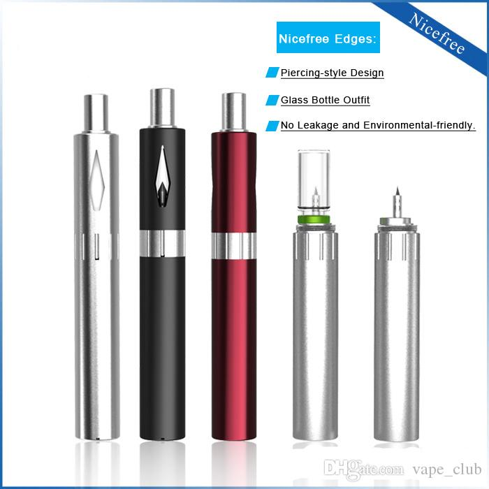 Best price vaporizer pen with vape pen battery metal tank vape starter kit 0.9mm 1.2mm 1.6mm oil hole size