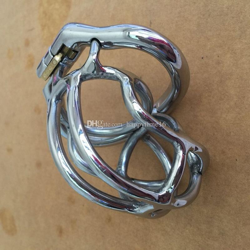 새로운 패션 디자인 55 미리 메터 길이 스테인레스 스틸 슈퍼 작은 남성 순결 장치 2.1