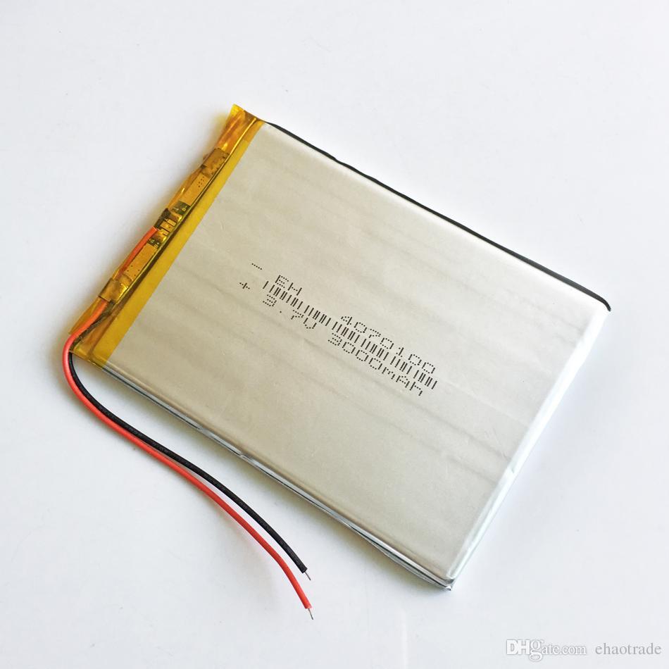 EHAO 4070100 3.7 V 3000 mAh Lityum Polimer Li-Po Şarj Edilebilir Pil Için DVD PAD cep telefonu GPS güç bankası Kamera E-kitaplar Recoder TV kutusu