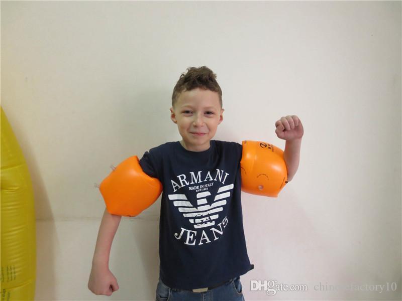 Anillo flotante del brazo de la banda de natación mangas inflables para la protección de la seguridad del niño adulto Anillo flotante del brazo de la natación