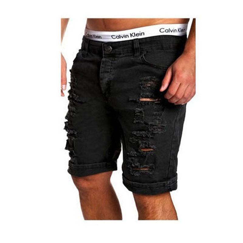 41195af580 Wholesale- Envmenst 2017 Summer Men Casual Jean Shorts New Fashion ...