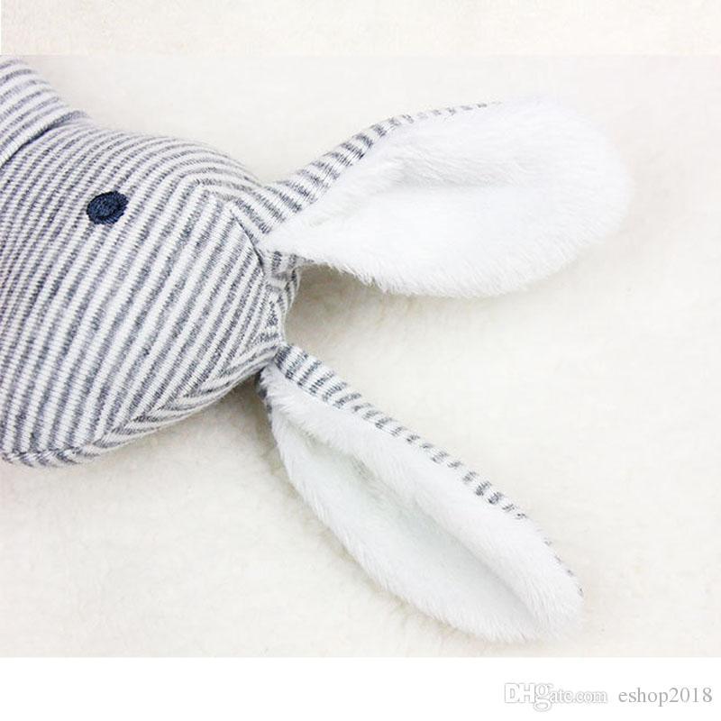 بالجملة الطفل لطيف الحيوان القطيفة الناعمة اليد العنب اللعب راتل الطفل الرضيع المشارب الأرنب التعليمية هدية اللعب التنمية