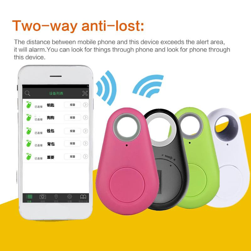Mini Wireless Phone Bluetooth 4 0 GPS Tracker Alarm iTag Key Finder Voice  Recording for Anti-lost Selfie Shutter For ios Android OTH399