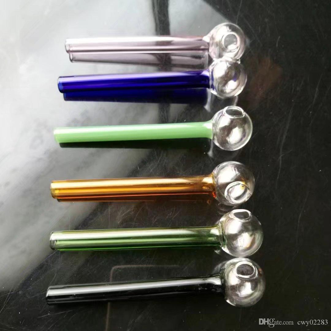 Accessori fumatori Elica in tubo di vetro, Bong in vetro Accessori Bruciatore a olio unico Tubi di vetro Tubi di acqua Tubo di olio Rigs di olio Fumo con Dro