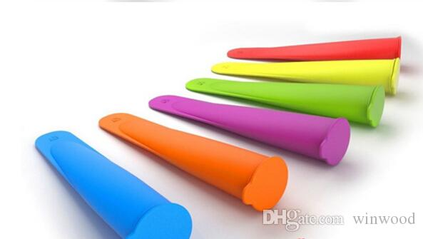 New Design Silicone Ice Cream Mold Maker Push Up Jelly Lolly Pop for Popsicle Silicone Mold Ice Cream Tools