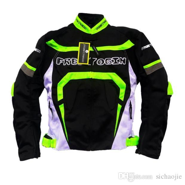 New model mesh breathable oxford motorcycle off-road jacket ride jackets racing clothing men's off-road jacket windproof have protection j-5
