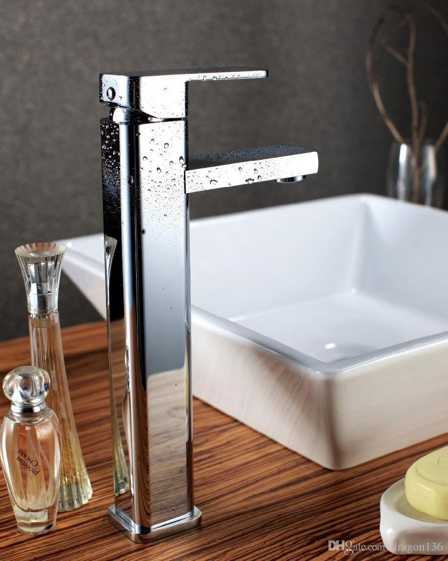 BLL lavabo mezclador de cobre militar de alta calidad grifo fregadero latón NY00512