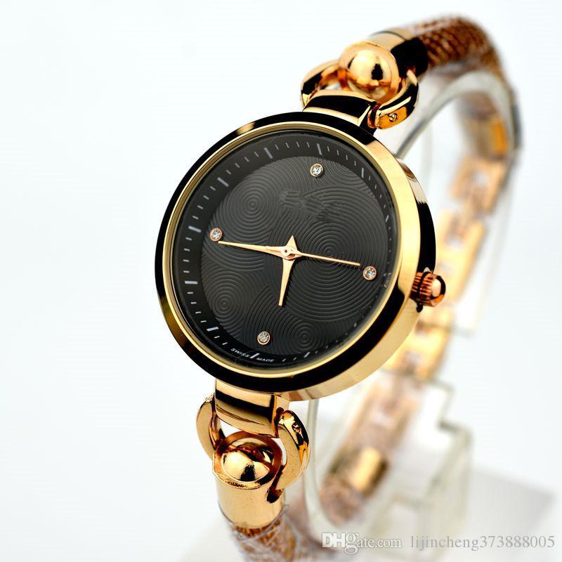 dc49cb9d2bb 2017 Hot Famous Clock Brands Quartz Watch Women Fashion Luxury AAA Watch  Ladies Stainless Steel Bracelet Wrist Watch Dress Lady Reloj Mujer Online  Shopping ...