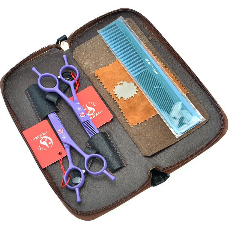 5.5Inch Meisha Thinning Scissors Sharp Forbici bordi Forbici parrucchiere JP440C Forbici barbiere in acciaio inox Strumenti barbiere, HA0166