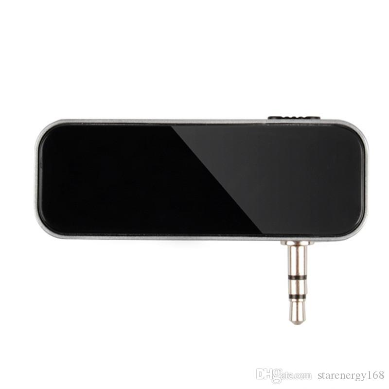 3.5mm Electronic In-car Car FM Transmitter Wireless LCD Stereo Audio Player for iPhone 6 Pus iPod Touch Galaxy S6 MP3 MP4 US01 B-PJ
