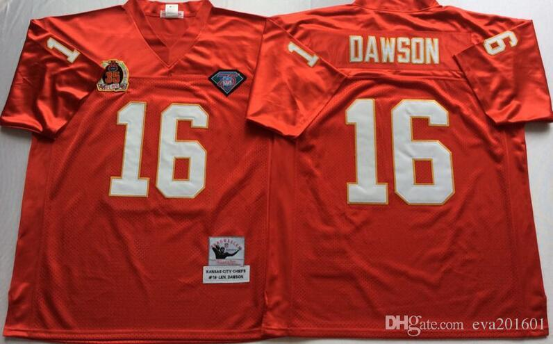 ... reduced 2017 discount throwback 16 len dawson jersey men red white team  color fashion len dawson italy nike nfl kansas city chiefs ... 0d21b396b
