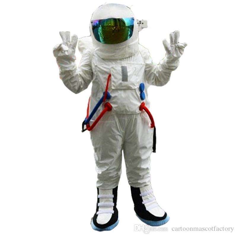 Acquista astronauta mascotte costumi personaggio dei cartoni