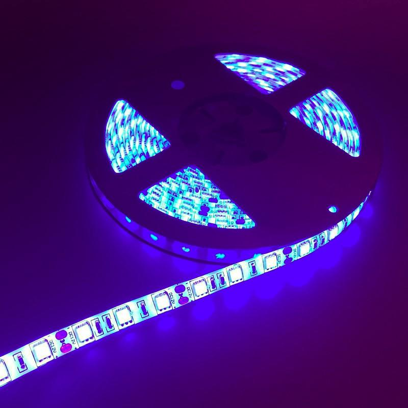 Topstand-Tech SMD5050 LED strip light high brightness 60LED/s 5M with 12V 5A adapter 100-240V input IP65 Waterproof