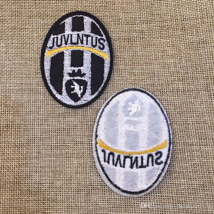 5.2cm * 7.2 cm Football team Badge Iron on Patches of Stickers, Soccer team Woven Label Patch Wholesale, DIY Cloth Accessories