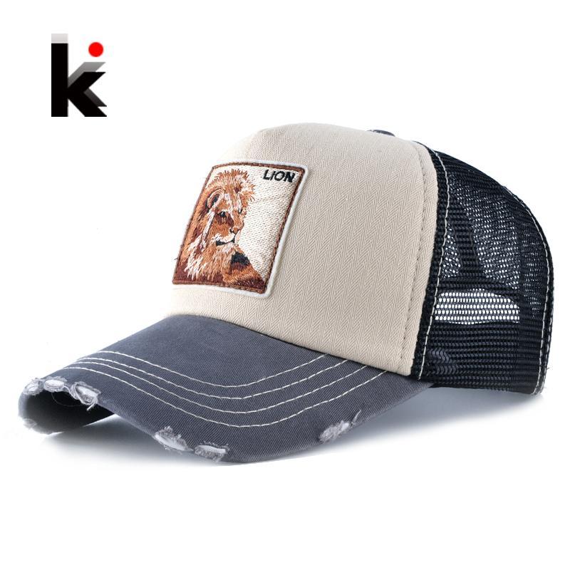 f32fc78398ce5 Wholesale Unisex Fashion Drake Hat For Men And Women Breathable Mesh Lion Embroidery  Baseball Caps Snapback Hip Hop Trucker Bone Casquette Mens Caps La Cap ...