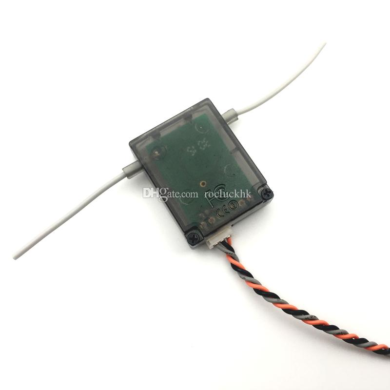 AR6200 2.4Ghz 6ch Receiver with Satellite for DX6i JR DX7 DSM-2 Receiver plastic bag packing