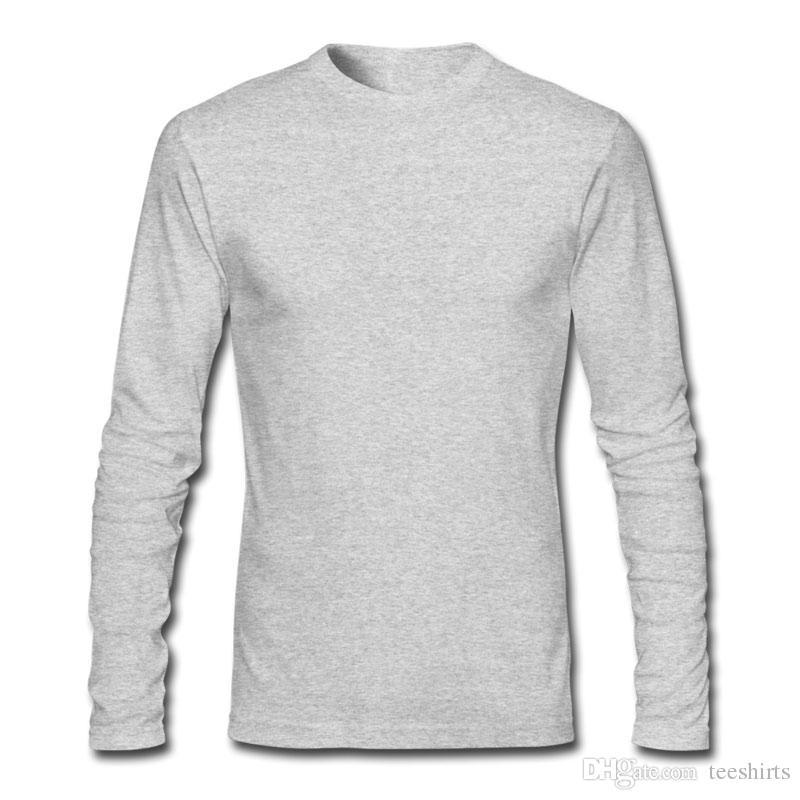 Camisetas con estampado de panda pesadas lindas para la primavera y el otoño Camisetas con manga larga y cuello redondo Camisetas