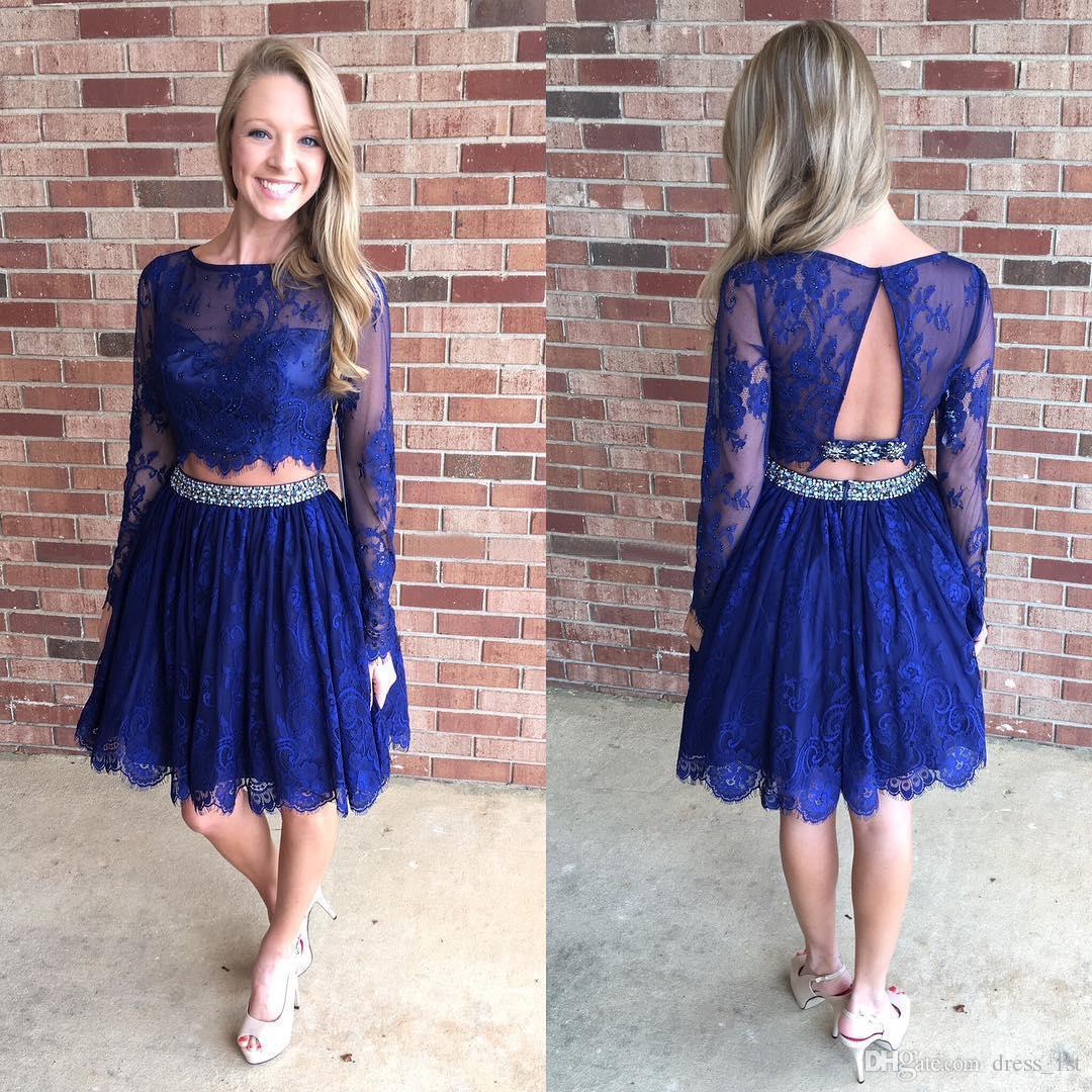 Fit Toghtly Royal Blue Short Formal Dresses