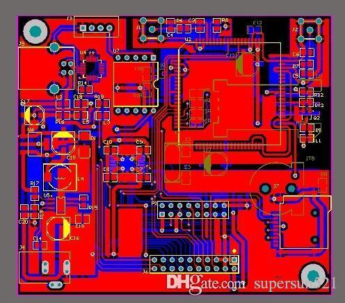Sim908 pcb file gps gprs gsm SIM908 schematic and pcb design file  stm32f103c8t6 cp2102 sp7656 ADXL345 sim card DIY Kit Free Shipping