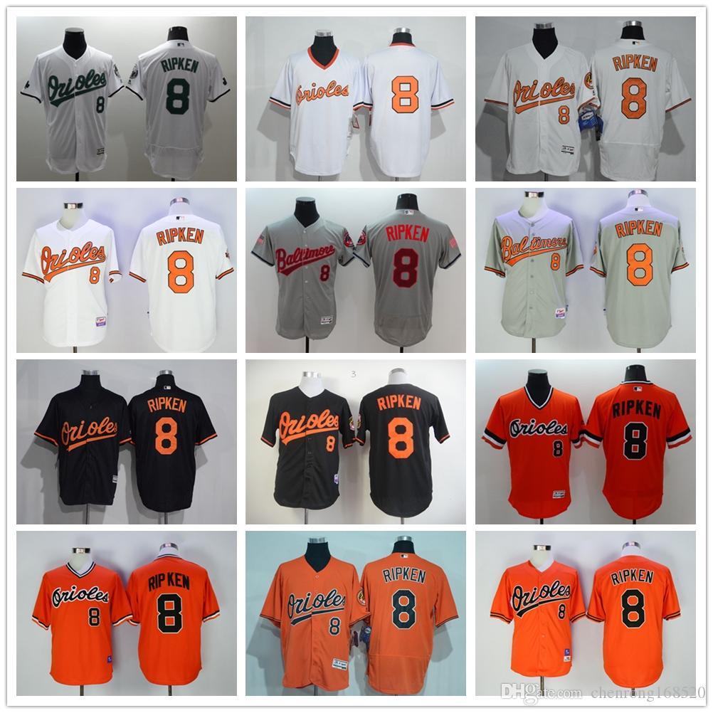 80f56ba27af ... 2017 Hot Sale 8 Cal Ripken Jersey 1989 Cooperstown Baltimore Orioles  Cal Ripken Baseball Jerseys Throwback ...