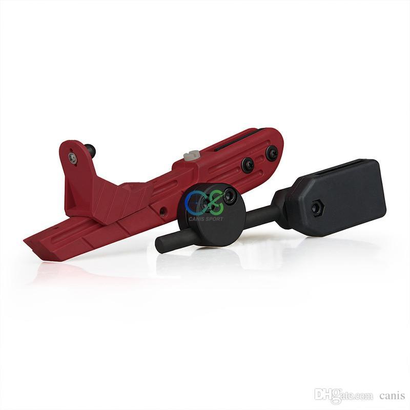 Neues Ankunfts CR-Geschwindigkeit taktisches Plastikpistole-Pistolenhalfter 4 Farben für taktische im Freiengebrauch Freies Verschiffen CL7-0021
