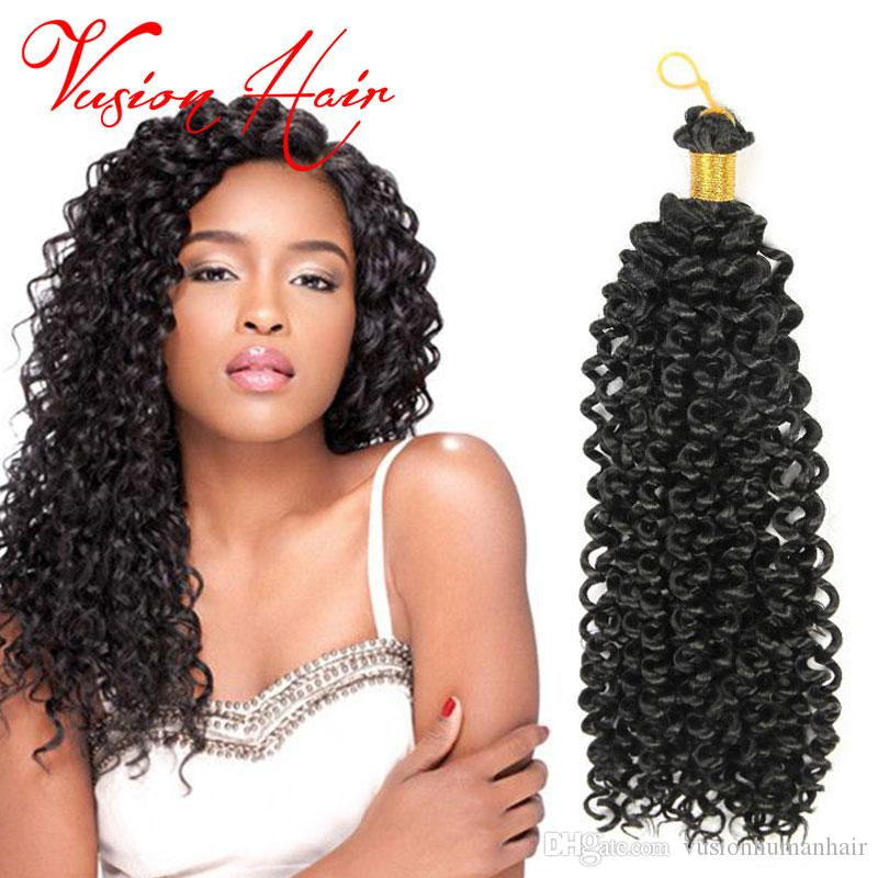 2019 Hot Sale Freetress Crochet Braid Hair Water Wave Crochet Latch