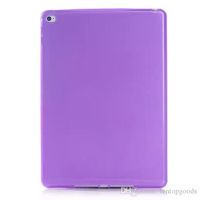 """for iPad Pro 9.7"""" Tablet Case Clear Soft TPU Back Cover Case for iPad Air Air2 Protective Back Cover"""