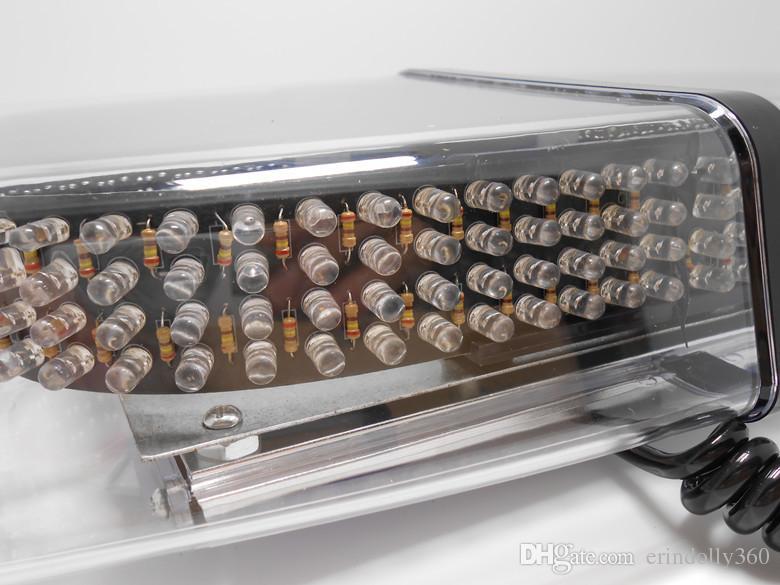 Strobe Amber 240-LED Emergency Hazard Warning LED Mini Bar Strobe Light w/ Magnetic Base for Car Trailer RV Caravan Boat plus HQRP UV Meter